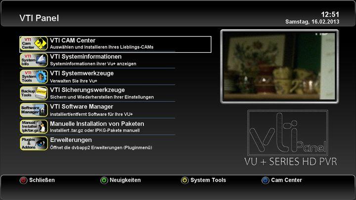 "Neues VTi ""Vu+ Team Image"" - v. 5.1.0-http://www.vuplus-support.org/faq/release_img_vti_51/vti_5_1_shot_02.jpg"