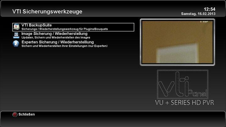 "Neues VTi ""Vu+ Team Image"" - v. 5.1.0-http://www.vuplus-support.org/faq/release_img_vti_51/vti_5_1_shot_05.jpg"